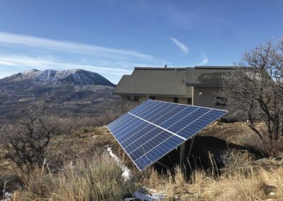 6.5 kW-Ground Mount - Elk River Mountain