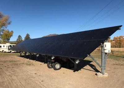 10.54 kW Ground Mount - Deer Mountain